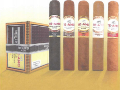 Te-Amo World Series Cigars Honduran Blend Robusto