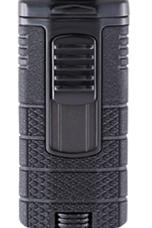 Xikar Tactical III Triple Jet Flame Cigar Lighter Black