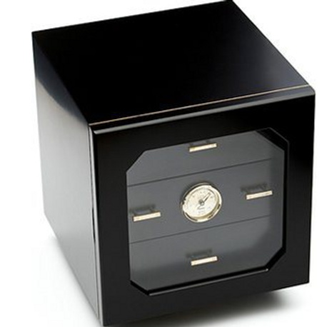 Adorini Chianti Black Cigar Humidor 100+ct