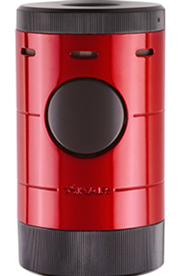 Xikar Volta Quad Jet Flame Cigar Lighter Red