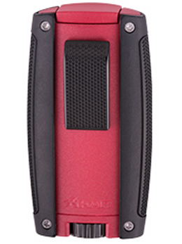Xikar Turismo Double Jet Flame Lighter Red