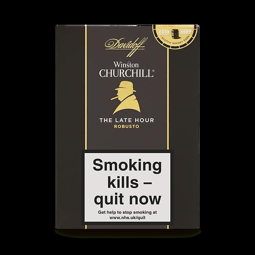 Davidoff Late Hour Winston Churchill Robusto Cigars
