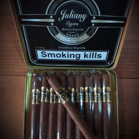 Juliany Reserva Especial Maduro Tin of 10 Cigars