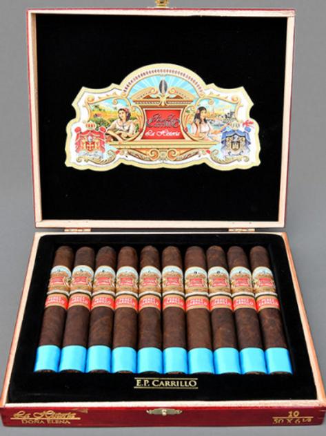 E.P. Carrillo La Historia Torpedo Cigar