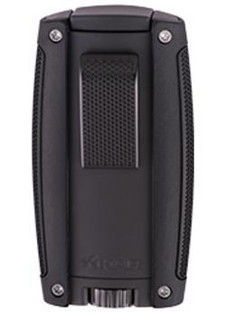 Xikar Turismo Double Jet Flame Lighter Black