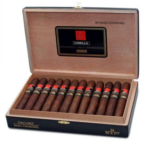 E.P. Carrillo Elite Series Seleccion Oscuro Small Churchill Cigar