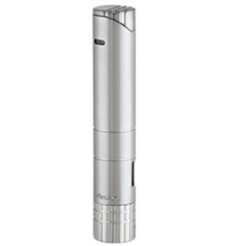 Xikar Turrim Single Jet Flame Cigar Lighter Silver