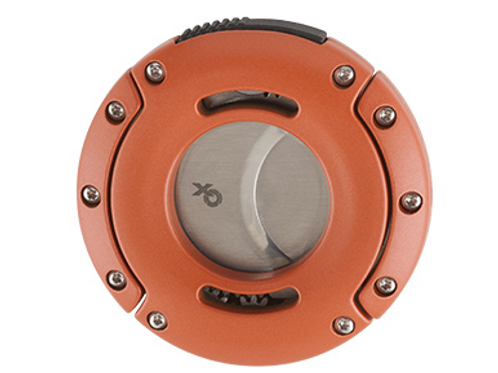 Xikar XO Cigar Cutter Orange with Silver Blades