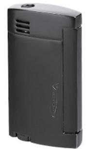 Vector Magnum Single Jet Flame Lighter Black