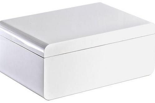 Adorini Carrara Grande Cigar Humidor White 150ct