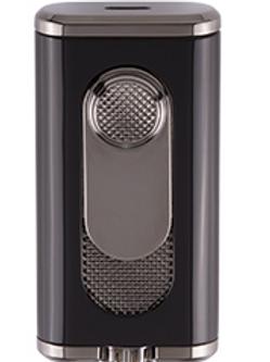 Xikar Verano Flat Jet Flame Cigar Lighter Black