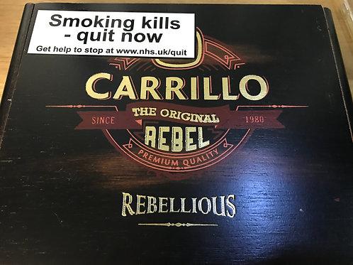 E.P. Carrillo Rebel Empty Cigar Box