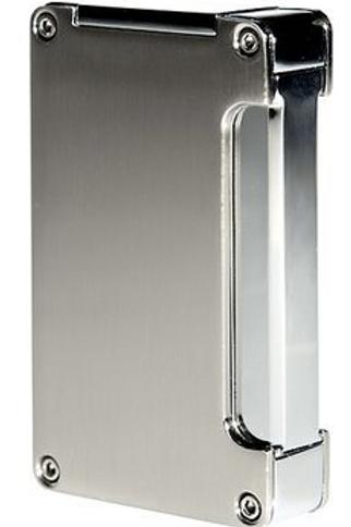 Adorini Single Jet Flame Cigar Lighter Silver