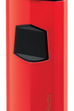 Vector Icon Triple Jet Flame Cigar Lighter Red