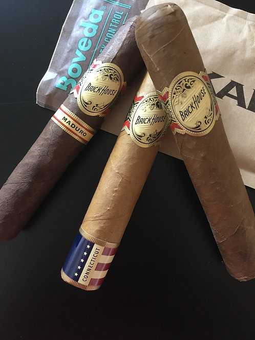 NWOC 3 BrickHouse Robusto Cigar Sampler