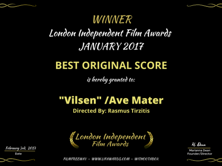 Winner of Best Original Score at London Independent Film Awards