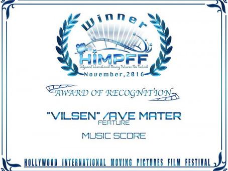 Winner of Best Music in Hollywood Film Festival