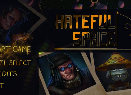 Music for the computer game Hateful Space
