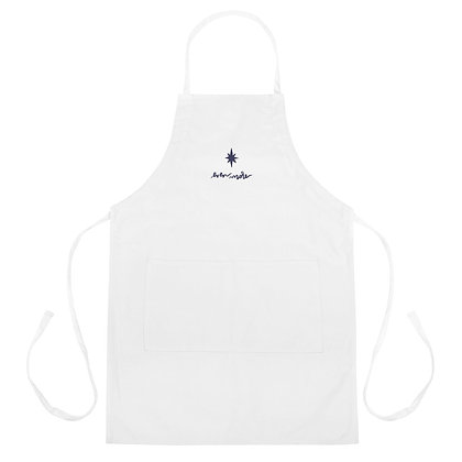 Even More Than the Manger >> Christmas Embroidered Apron