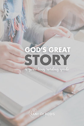 E-BOOK | God's Great Story: A Year-Long Reading Guide