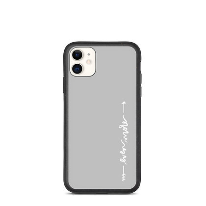 Even More >> Grey Arrow iPhone Case