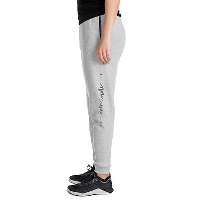 Even More  >> Joggers Grey Text