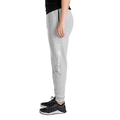 Even More >>  Joggers White Text