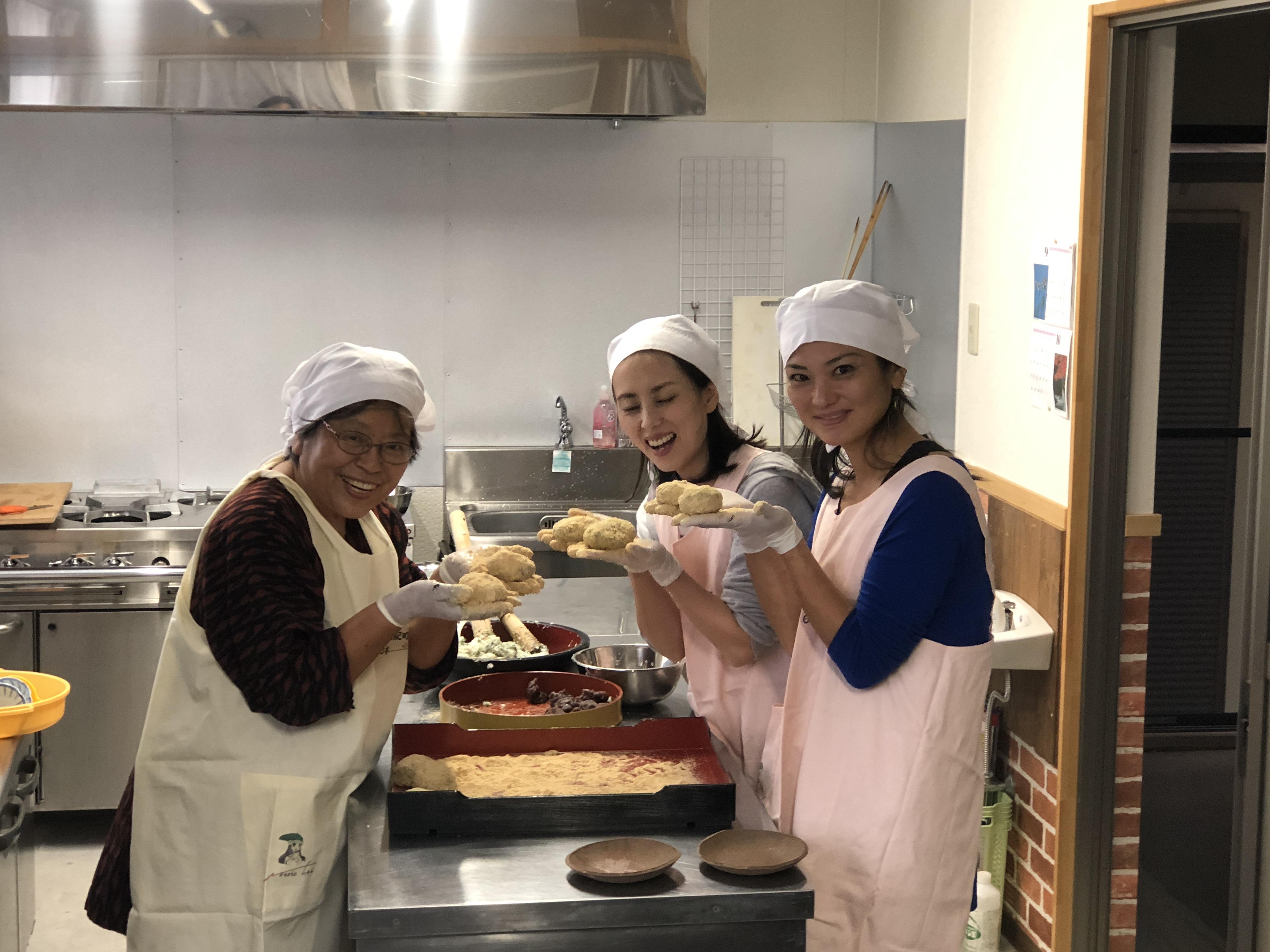 郷土菓子作り体験