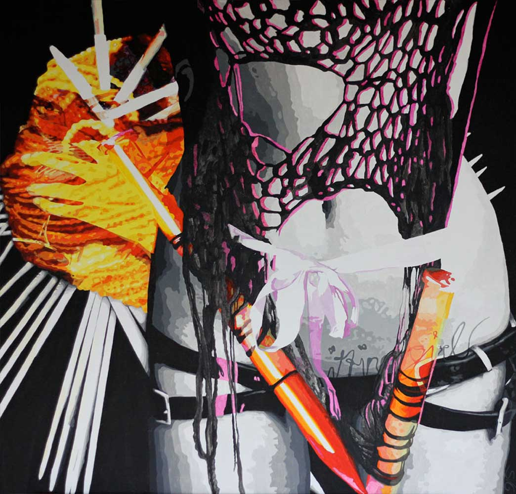 'Knitting Girl'