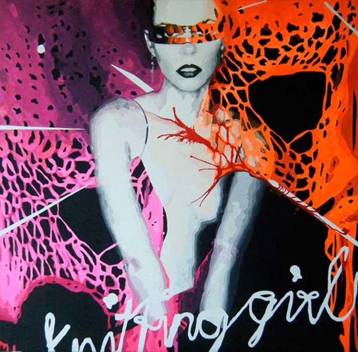 'Knitting-girl 2'
