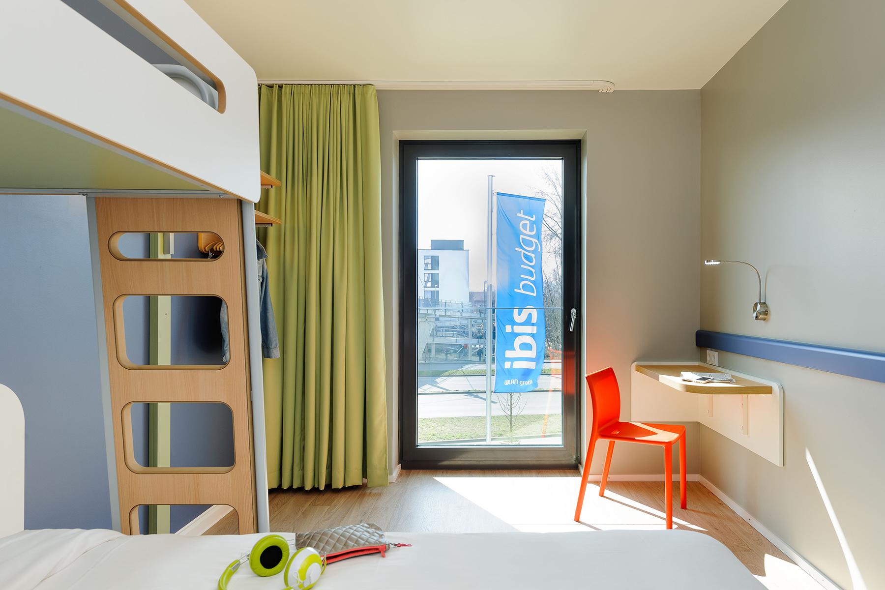 Doppelzimmer im ibis BUDGET Konstanz