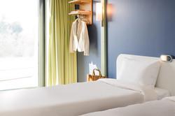 Twin Bed Zimmer im ibis BUDGET