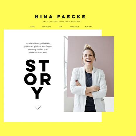 Nina Faecke Freie Journalistin