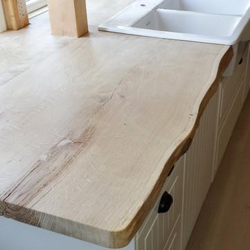 Arbeitsplatte aus Holz
