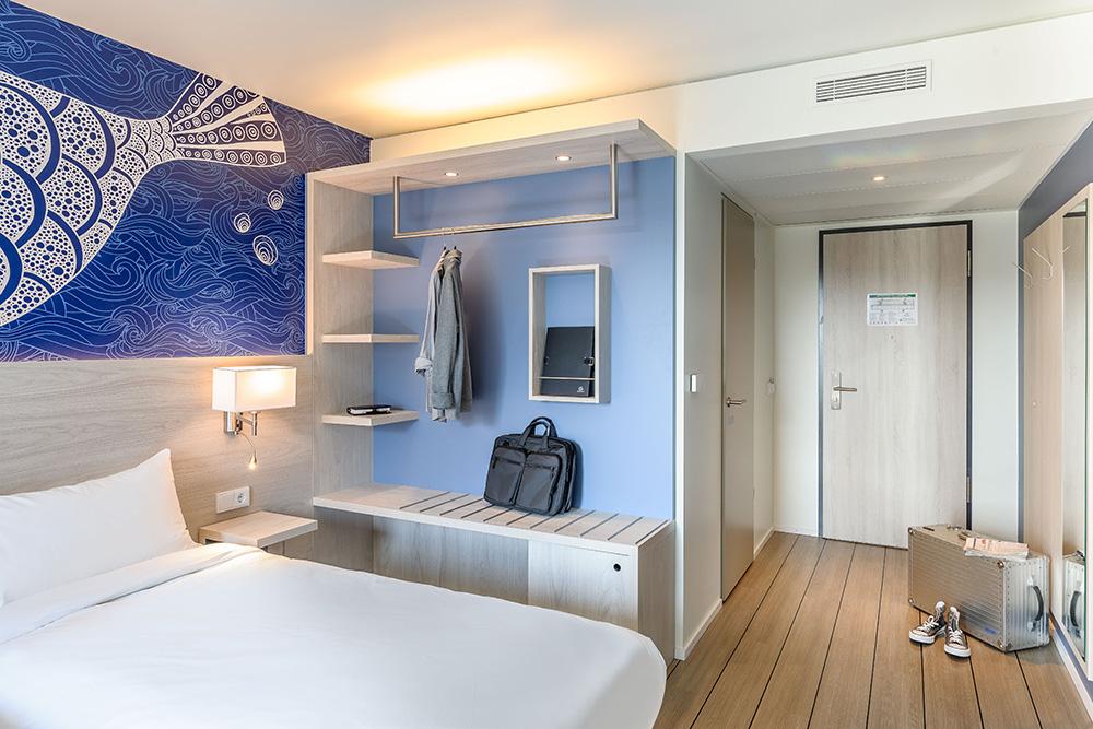 Garderobe im Doppelzimmer