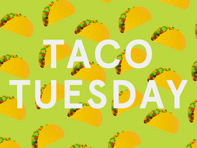 Meatless Monday (well, Tuesday) Menu!  Get ready for Taco Tuesday, vegan style.