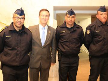 Guardas municipais recebem homenagem na Assembleia Legislativa de São Paulo