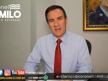 Coronel Camilo esclarece: benefícios para a Polícia Militar e valorização