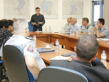 Mais segurança: Coronel Camilo visita Piracicaba
