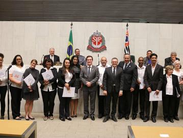 Associações ligadas aos PMs são homenageadas pelo Deputado Coronel Camilo