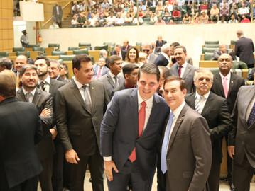 Coronel Camilo parabeniza novo presidente da ALESP
