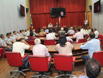 Coronel Camilo recebe vereadores para um bate-papo sobre gestão pública