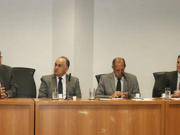 Na Alesp, Coronel Camilo participa de reunião da Fundação Santos Dumont