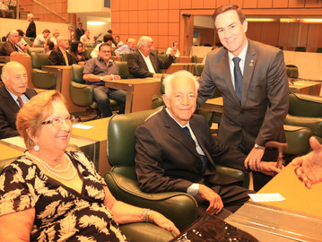 Coronel Camilo faz homenagem ao Corpo Musical na Assembleia Legislativa