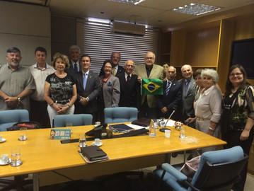 Reunião do Conselho Cívico e Cultural é marcada por palestra do Deputado Coronel Camilo