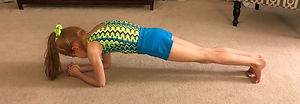 Planking - gymming at home.JPG
