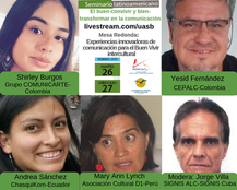Seminario Latinoamericano: El Buen-convivir y Bien-transformar en la Comunicación