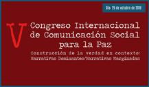 V Congreso Internacional de Comunicación Social para la Paz