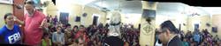 Jam packed church in Egypt
