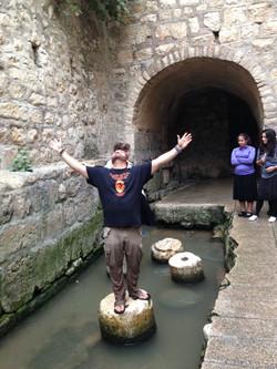 Jerusalem we made it! Hezikiah's Tunnels